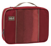 Red colored Eagle Creek packing cube