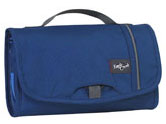 Blue colored Eagle Creek toiletry bag