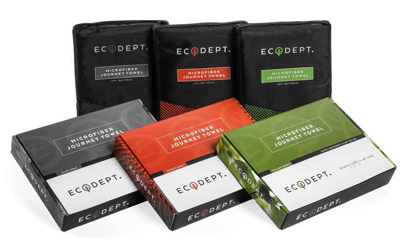 ECOdept travel towels