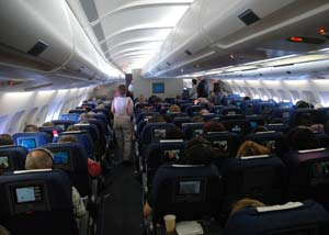 Passengers on commercial aircraft