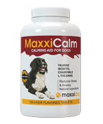 Quality calming aid for dogs from MaxxiDog