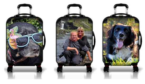 Make your own personalized luggage with Luggage Pros