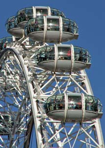 Sightseeing in London Eye