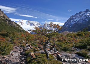 Mountain view in Pategonia Argentina