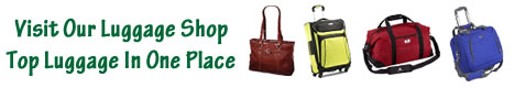 Top travel tips luggage shop