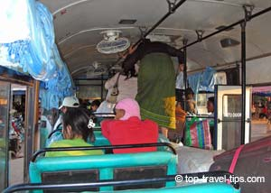 Safety tips for crowded bus travel
